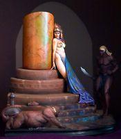 Frank Frazetta Egyptian Queen Statue