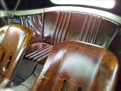 Leather Vintage PORSCHE interior - well looked after! Porsche 356 Speedster, Porsche 944, Porsche Sports Car, Porsche Cars, Bike Seat, Car Seats, Sport Seats, Vintage Porsche, Vintage Cars