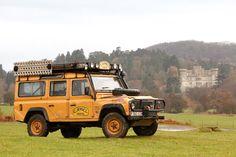 Land Rover Defender, Siegerfahrzeug der Camel Trophy 1989