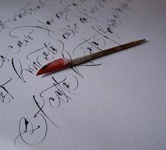 CALLIGRAPHIE ~ Julien CHAZAL, calligraphe Paris ~ Galerie