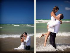 trash the dress - water lift and kiss