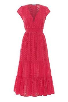 New Season Designer Womenswear | SS20 Designer Clothing | Atterley Cap Sleeves, Dresses With Sleeves, Woman Silhouette, Resort Wear, Designer Clothing, Ted Baker, Tulips, Latest Fashion, Women Wear
