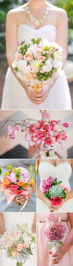 Your bridal bouquet is a great way to showcase your personality. If you are looking something unique and unconventional, here are some pretty amazing ideas for you! From succulents, cotton, to other alternatives, these dazzling bouquets offer the most creative mix of modern floral arrangement. Get ready to be inspired by these one-of-a-kind bouquets below. …