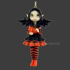 **PUMPKIN PIXIE** Hanging Fairy Fantasy Art Figurine By Jasmine Becket-Griffith