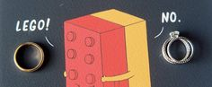 13 Lego Wedding Ideas You'll  Want to Copy
