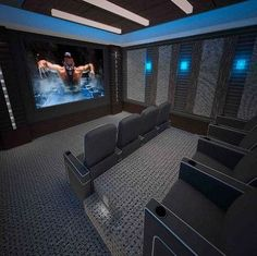 Home Theater Ideas, Home Theater Design, Home Cinemas, Movies, Design Interior, Big Screen Television, Projector Screen, Entertainment Room #hometheaterdesign