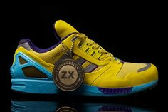 """adidas ZX 8000 """"Jacques Chassaing & Markus Thaler"""" The aZX project was a… Best Sneakers, Sneakers Nike, Limited Edition Trainers, Adidas Zx 8000, Boost Shoes, Fly Shoes, Adidas Brand, Best Running Shoes, Sports Shoes"""