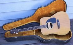 #guitar Vintage Takamine & Co. F-360S Acoustic Guitar Dean Markley Pro-Mag & Hard Case please retweet