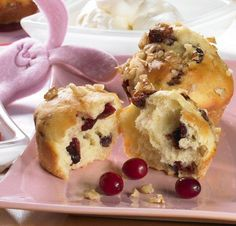 Cranberry   Quark   Muffins