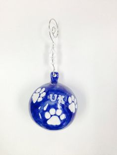 UK Wildcats Ceramic Ornament by CostonsCustomCeramic on Etsy