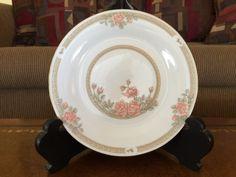Crown Ming Jain Shiang Salad Plate Christina Pattern 1392 Set of 8 by AlbertsonMiller on Etsy