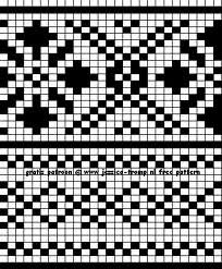 sjaal noors patroon - Google zoeken