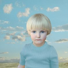 A boy and the clouds