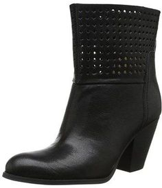 Nine West Womens Whippy Chic Closed Toe Ankle Fashion Boots, Black, Size 6.0.