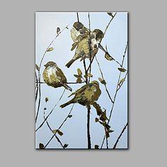 【今だけ☆送料無料】 アートパネル  動物画1枚で1セット 小鳥 バード 癒し さえずり プレゼント 【納期】お取り寄せ2~3週間前後で発送予定