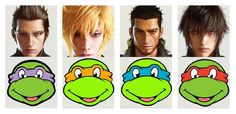 These FF15 characters feel familiar to me...