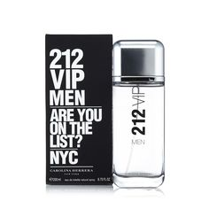 212 Vip Men Eau de Toilette Spray for Men by Carolina Herrera