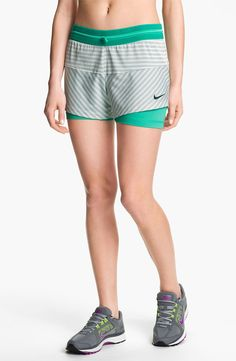Nike 'Icon' 2-in-1 Dri-FIT Print Shorts - http://womenspin.com/clothing/pants-shorts/nike-icon-2-in-1-dri-fit-print-shorts/