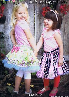 Suzy+Swirl+Skirts+&+Leggings+Patterns+by+Apron+Lady+Designs+at+Creative+Quilt+Kits  Save 10% with code- PINTEREST10 at checkout