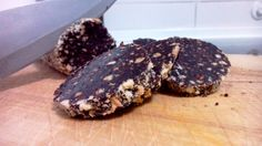 Salami de chocolate – Salame di cioccolato italian food, italian recipes, cocina italiana, comida italiana