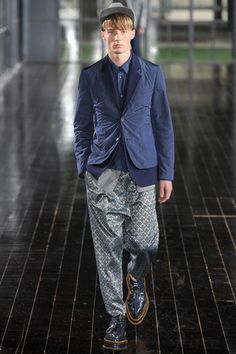 John Galliano Spring 2014 Menswear Collection Slideshow on Style.com