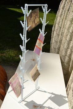 Instant Photo, Note or Snack Display Stand for your home, office, online selling or storefront selling at #DustyJunk.com
