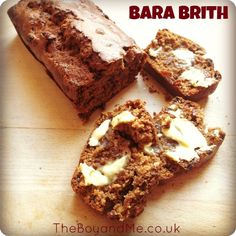 Bara Brith is a popular spiced tea loaf in Wales and means 'speckled bread'. The speckled part comes from the raisins which are scattered throughout the bread, which would have been made traditionally from leftover bread dough.