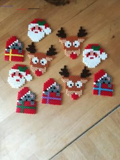 Fantastic Photos christmas perler Popular 'Tis in which time of the year again. Fantastic Photos christmas perler Popular 'Tis in which time of the year again! That Yuletide, most people plan to be not only your ticketing partner. Hama Beads Design, Diy Perler Beads, Hama Beads Patterns, Perler Bead Art, Beading Patterns, Holiday Crafts, Christmas Crafts, Christmas Decorations, Christmas Perler Beads