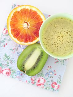 Centrifugato di kiwi e arancia