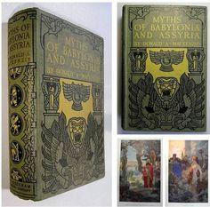 c1915 MIDDLE EASTERN FAIRY TALES Babylonia Assyria Iraq MYTHOLOGY Mesopotamia | eBay