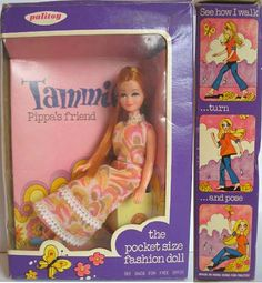 Tammie doll - Pippa's friend. I had Angie the blonde crimped haired one too