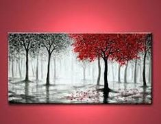Image result for easy canvas paintings for beginners step by step #OilPaintingForBeginners