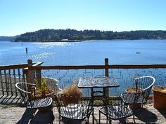 Best Beach Suite, Stunning views & Closest to Winslow, Private, Cozy, fireplaces - Bainbridge Island Convertible Bed, Bainbridge Island, Seattle Washington, Cabin Rentals, Swimming Pools, Pergola, Beautiful Places, Outdoor Structures, Patio
