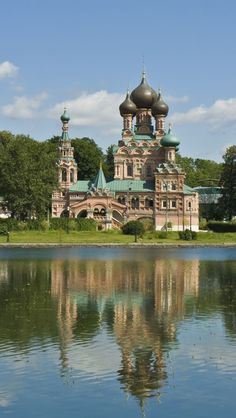 Trinity Church,  Moscow, Russia