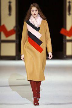 The Coat by Katya Silchenko, Look #15 fall 2016 Ukraine