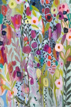 Flow in the Divine 24x36 by Carrie Schmitt at carrieschmittdesign.com