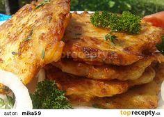 Cibuláčky recept - TopRecepty.cz Hungarian Recipes, Russian Recipes, Low Carb Recipes, Vegan Recipes, Cooking Recipes, Czech Recipes, Ethnic Recipes, Fast Dinners, Sweet And Salty