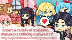 Download & Install - My Prettygirl Story : Dress Up Game , Cute doll 2.21.12 Apk Create Your Own Background, Avatar Creator, Dinosaur Games, Avatar Maker, Stage Background, Battle Games, Cute Games, Girls Dress Up, Anime Dress