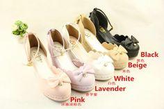Lady's Sweet Princess Lolita Wedges Shoes | all colours! | AU$55.96 | My Lolita Dress