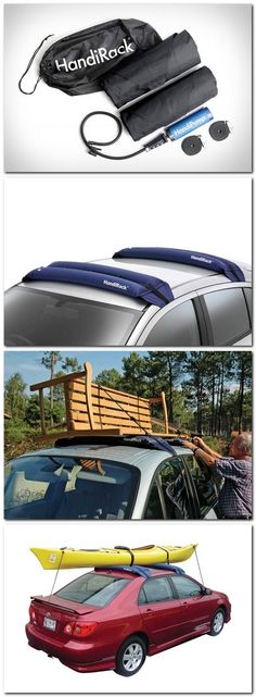 Malone HandiRack Inflatable Universal Roof Top Rack Luggage Carrier