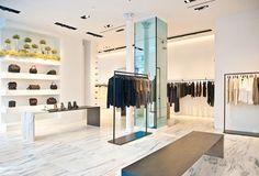 Alexander Wang flagship store in New York by interior designer Ryan Korban_