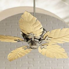 Palm Coast San Martin 52 In Aged Brass Downrod Or Close Mount Indoor Ceiling Fan 40858