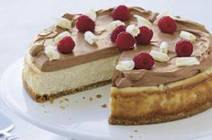 SNACK DELIGHTS Chocolate Mousse Cheesecake