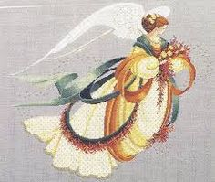Resultado de imagen de lavender and lace cross stitch patterns free