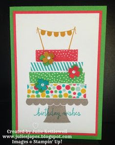 Stampin' Up! - Julie Kettlewell: Build A Birthday