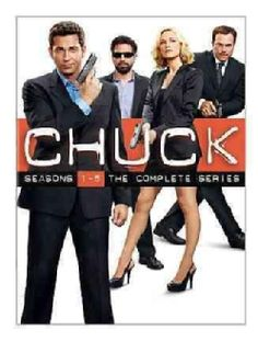 @Overstock - This set contains the entire run of the NBC series CHUCK which starred Zach Levi as a geeks sales clerk who turns into a super spy.http://www.overstock.com/Books-Movies-Music-Games/Chuck-Seasons-1-5-The-Complete-Series-DVD/7325333/product.html?CID=214117 $104.76