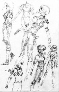 チカ・タイツ プロト ✤ || CHARACTER DESIGN REFERENCES | Find more at https://www.facebook.com/CharacterDesignReferences if you're looking for: #line #art #character #design #model #sheet #illustration #expressions #best #concept #animation #drawing #archive #library #reference #anatomy #traditional #draw #development #artist #pose #settei #gestures #how #to #tutorial #conceptart #modelsheet #cartoon #female #lady #woman #girl || ✤