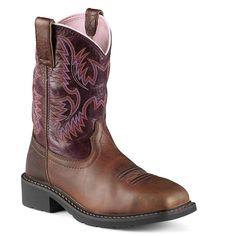 Ariat Women's Steel Toe Krista Western Work Boots