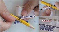 Ideas Geniales, Needle Lace, Easy Knitting, Big Kids, Tatting, Embroidery, Sewing, Crafts, Loom Knitting