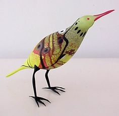 Bird sculpture from Shane Fero.